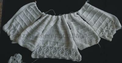 Sweterek komunijny