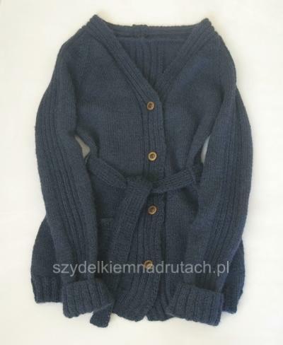 swetry na drutach szkolny bez mundurka