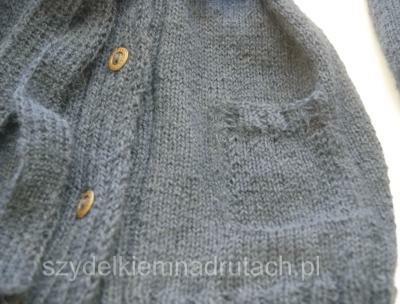 swetry na drutach szkolny zbliżenie